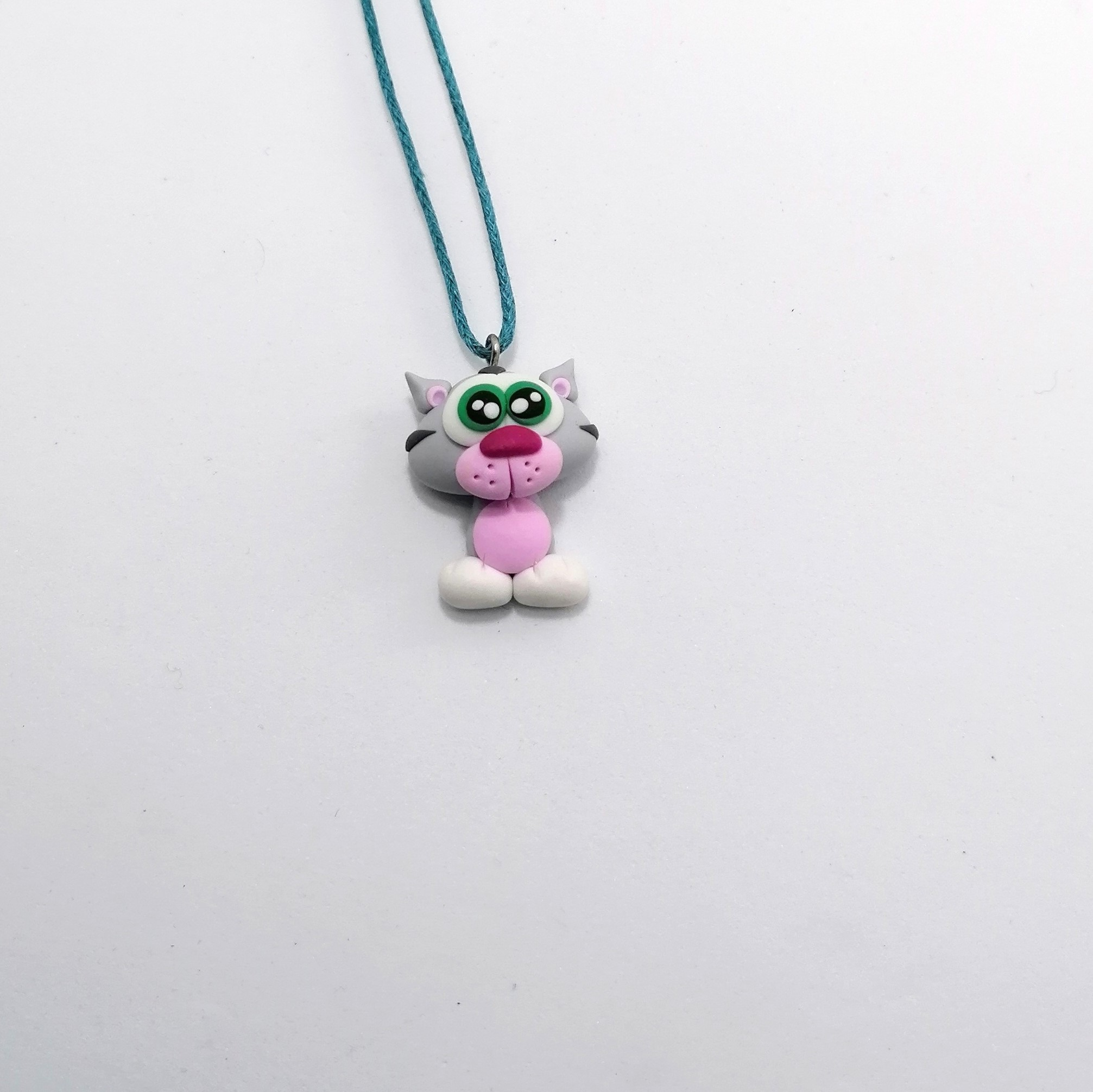 cat cute necklace1