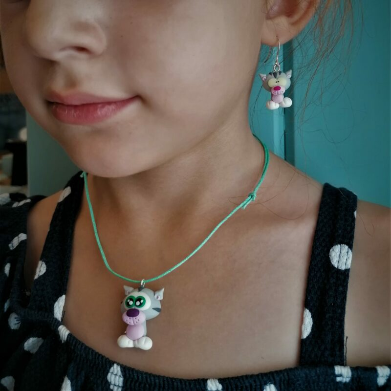 cat cute necklace2 scaled