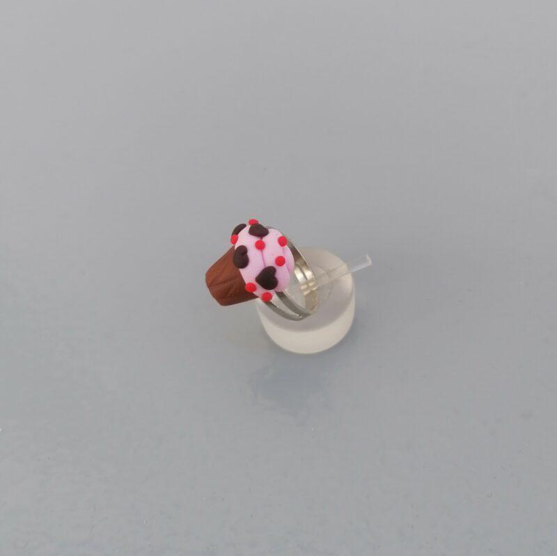 pink cupcake ring 1