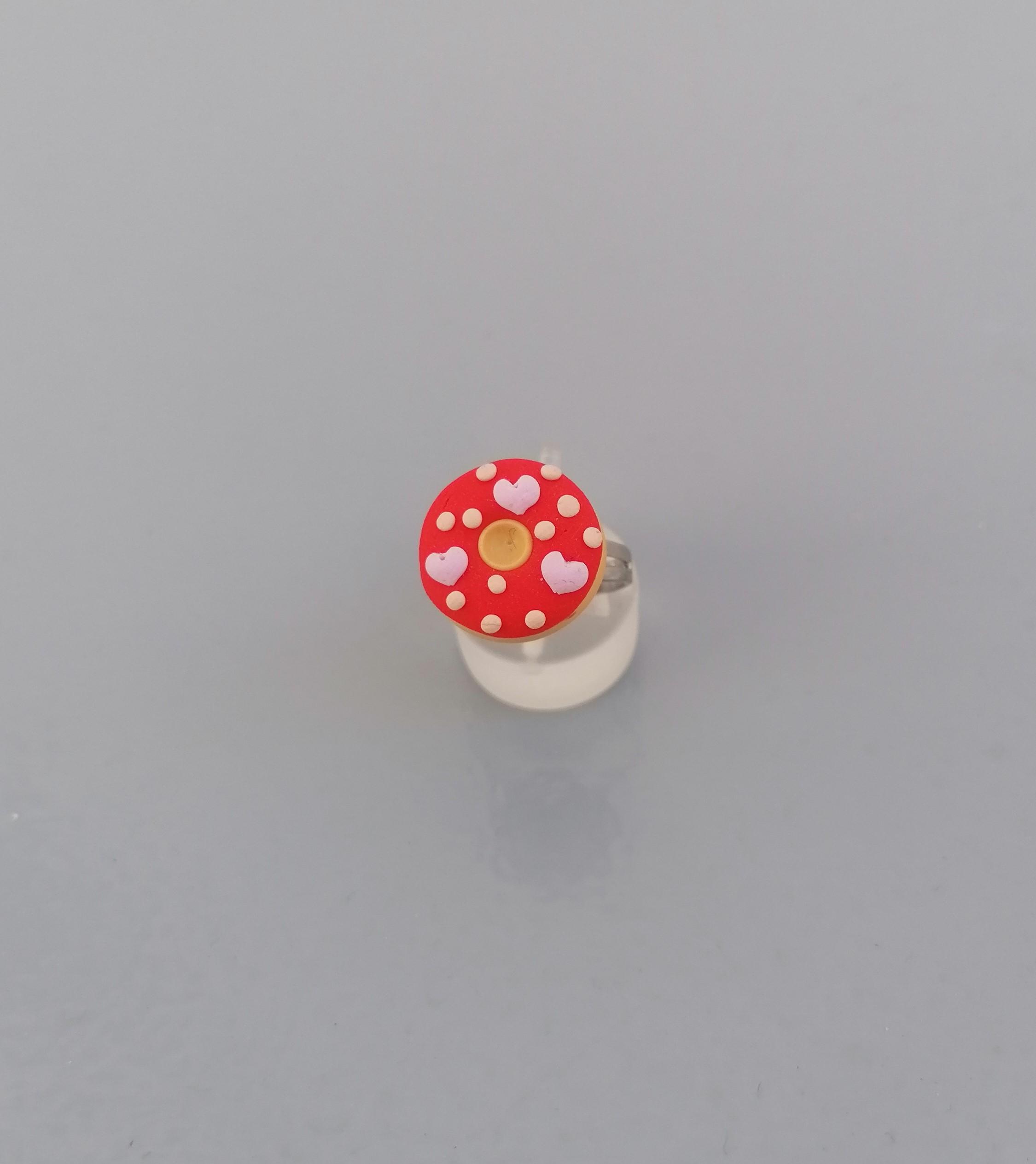 red donut ring 2
