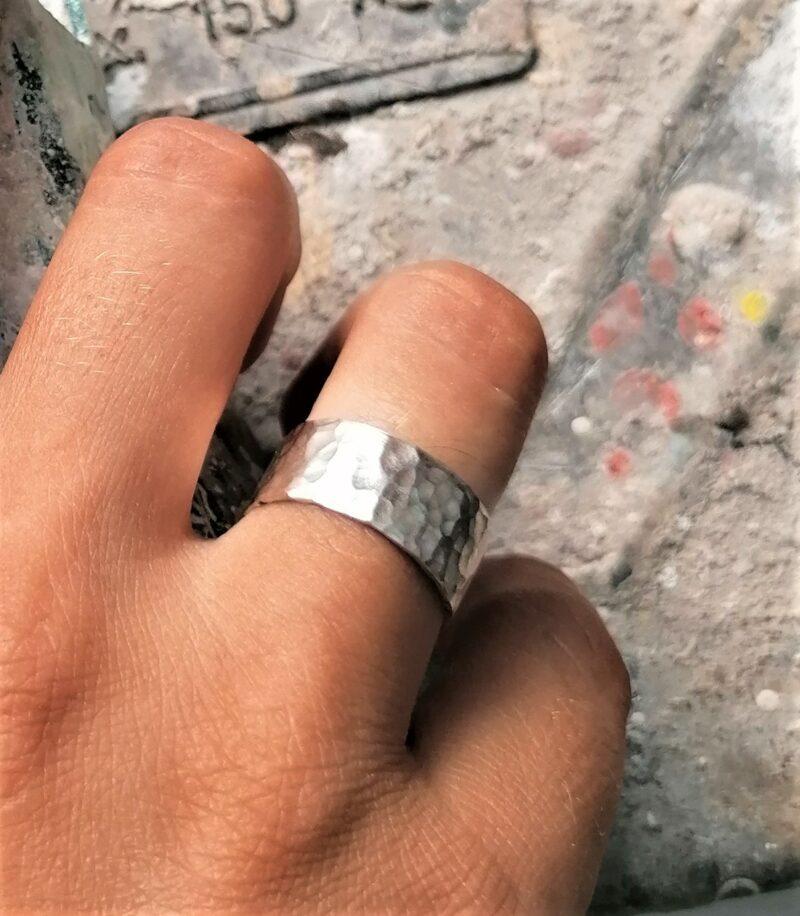 silverhammeredbandring4