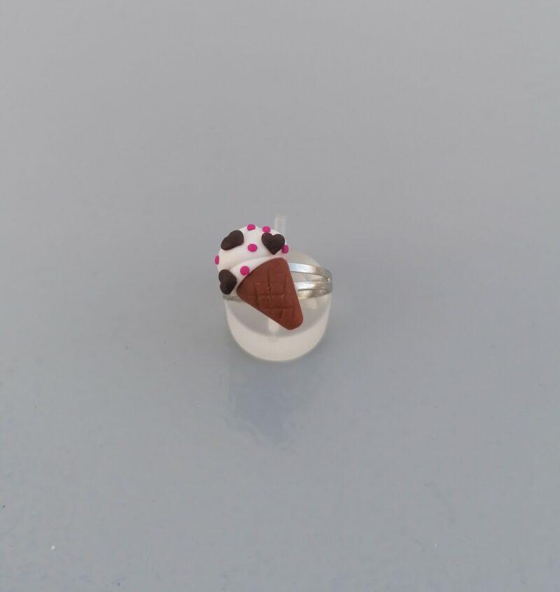 vanilla ice cream cone ring 1