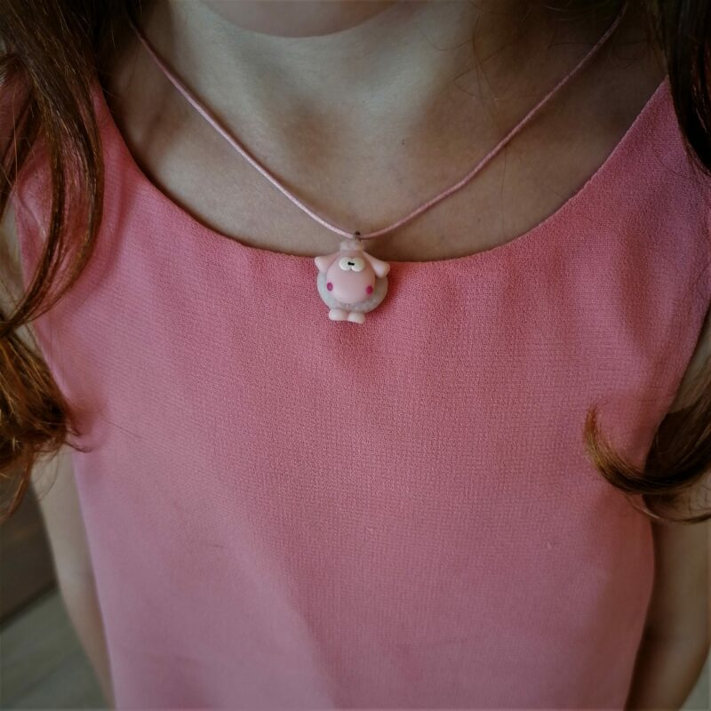 white sheep necklace scaled